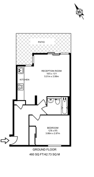 Large floorplan for East India Dock Road, Poplar, E14