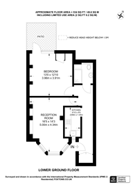 Large floorplan for Thistlewaite Road, Clapton, E5