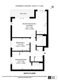 Large floorplan for Moorhen Drive, Hendon, NW9