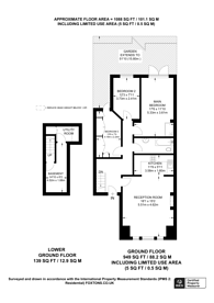 Large floorplan for SALE AGREED & FURTHER PROPERTIES REQUIRED - Huron Road, Heaver Estate, SW17
