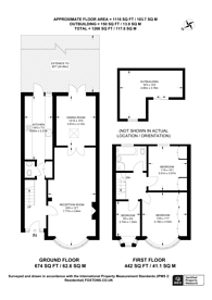 Large floorplan for Wadham Avenue, Walthamstow and surrounding areas, E17
