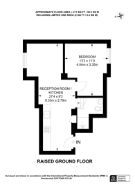 Large floorplan for Pembridge Gardens, Notting Hill, W2