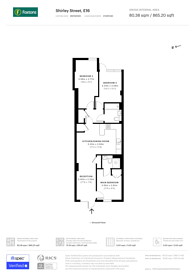 Large floorplan for Shirley Street, Canning Town, E16