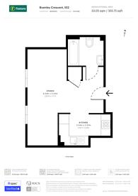 Large floorplan for Bramley Crescent, Ilford, IG2
