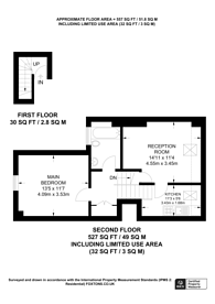 Large floorplan for Gilbey Road, Tooting Broadway, SW17