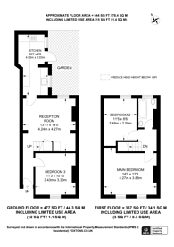 Large floorplan for Moffat Road, Tooting Bec, SW17