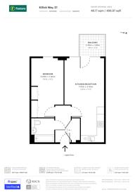 Large floorplan for Killick Way, Stepney, E1