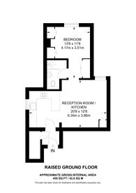 Large floorplan for Leamington Park, Acton, W3