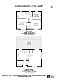Large floorplan for Rushden Close, Upper Norwood, SE19