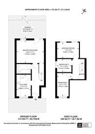 Large floorplan for Baird Close, Leyton, E10