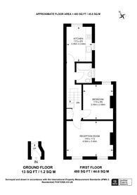 Large floorplan for Geldart Road, Peckham, SE15