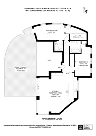 Large floorplan for Martello Street, London Fields, E8