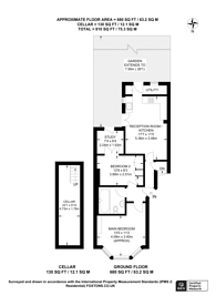 Large floorplan for Trent Road, Brixton, SW2