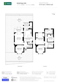 Large floorplan for Bridle Road, Maidenhead, SL6