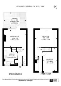 Large floorplan for Barnes Street, Limehouse, E14