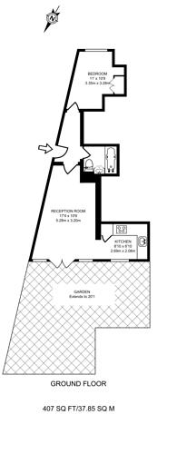 Large floorplan for Cann Hall Road, Leytonstone, E11