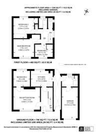 Large floorplan for Blackwell Avenue, Park Barn, GU2
