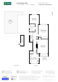 Large floorplan for Coombe Road, Lloyd Park, CR0