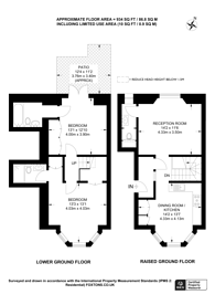 Large floorplan for Cavendish Road, Brondesbury, NW6