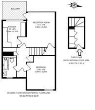 Large floorplan for Malden Road, Kentish Town, NW5