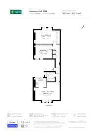 Large floorplan for Haverstock Hill, Belsize Park, NW3