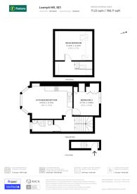 Large floorplan for Loampit Hill, Lewisham, SE13