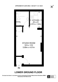 Large floorplan for Anglesea Road, Kingston, KT1