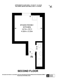 Large floorplan for Melyn Close, Tufnell Park, N7