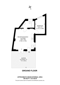 Large floorplan for Marquis Road, Camden, NW1