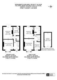 Large floorplan for Beckingham Road, Stoughton, GU2