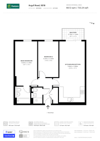 Large floorplan for Argyll Road, Woolwich, SE18