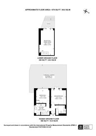 Large floorplan for Sunnyside Road, Whitehall Park, N19