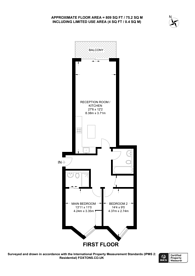 Large floorplan for Cricketers Wharf, Wharf Road, Guildford, GU1