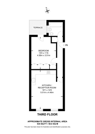 Large floorplan for Wendon Street, Victoria Park, E3