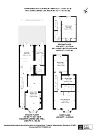 Large floorplan for Livingstone Road, Walthamstow Village, E17