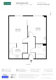 Large floorplan for Hardwick Street, Finsbury, EC1R