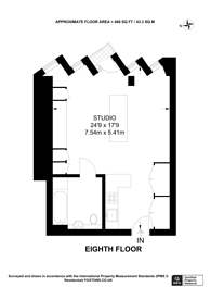 Large floorplan for Manhattan Loft, Stratford, E20