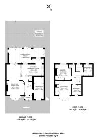 Large floorplan for Northumberland Road, North Harrow, HA2