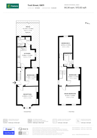 Large floorplan for Trott Street, Battersea, SW11