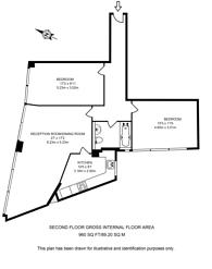 Large floorplan for Clerkenwell Road, Clerkenwell, EC1M