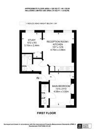 Large floorplan for Weymouth Street, Marylebone, W1G