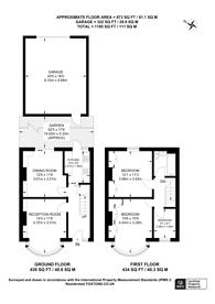 Large floorplan for Lancelot Avenue, Wembley, HA0