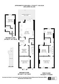 Large floorplan for Dalberg Road, Brixton, SW2