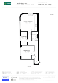 Large floorplan for Belinda Road, Brixton, SW9