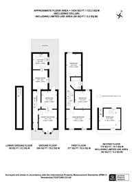 Large floorplan for Louise Road, Stratford, E15
