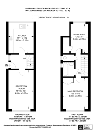 Large floorplan for Leigham Court Road, Streatham Hill, SW16