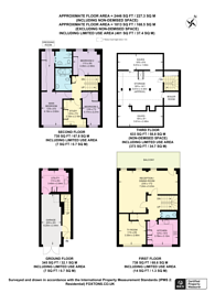 Large floorplan for Park Crescent Mews East, Marylebone, W1W