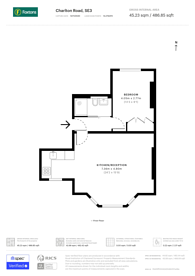 Large floorplan for Charlton Road, Blackheath, SE3