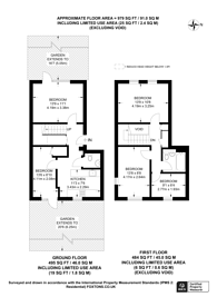 Large floorplan for Coopers Lane, King's Cross, NW1