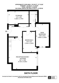 Large floorplan for Juniper Drive, Wandsworth Town, SW18
